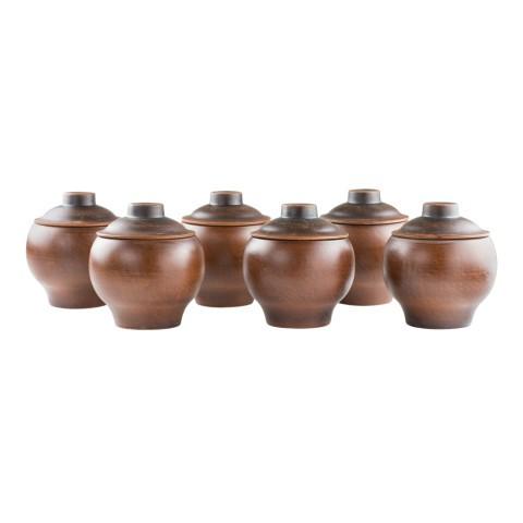 Ollas de cerámica 6 und