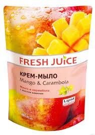 Crema-Jabón de Mango y Carambola, 460 ml