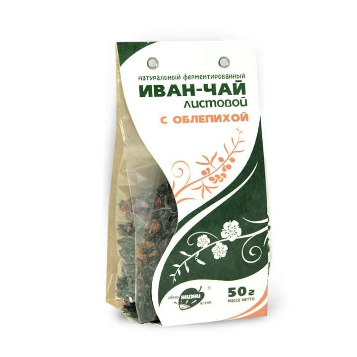 Ivan Té  fermentado con espino amarillo 50 gr