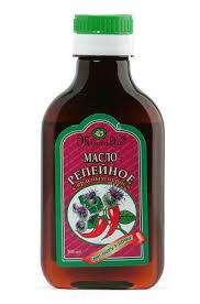 Aceite de bardana con pimiento rojo, 100 ml.