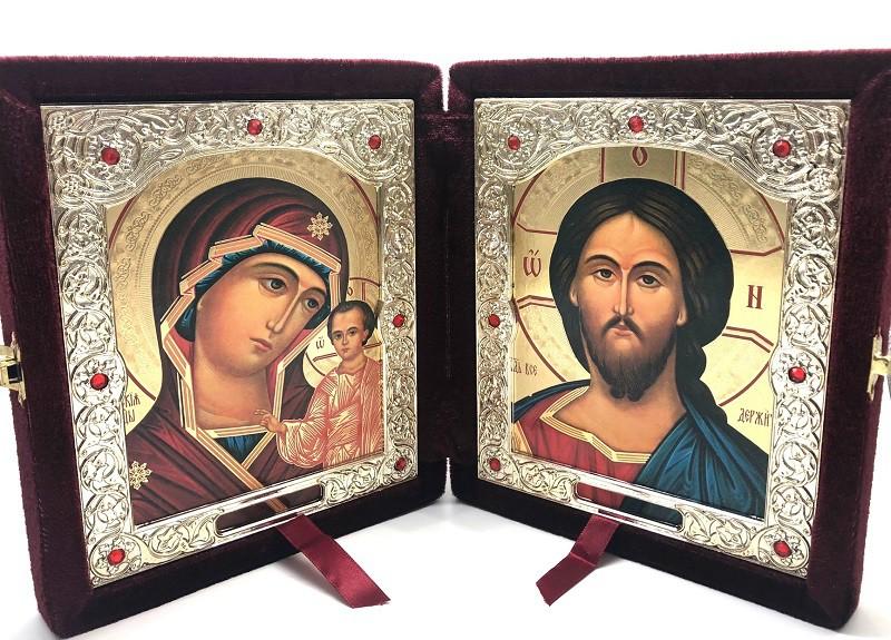 Iconos en terciopelo, 18*22 cm