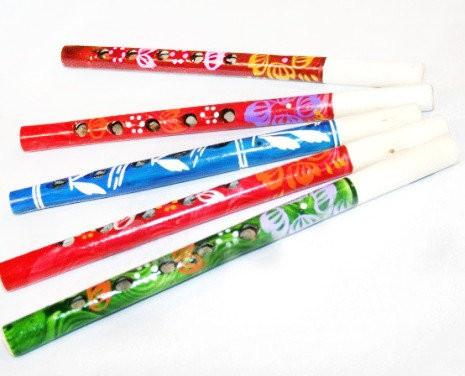 Flauta de madera, 24 cm