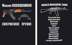 "Camiseta ""Kalashnikov"""