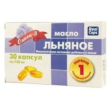 Aceite de linaza, 30 cápsulas