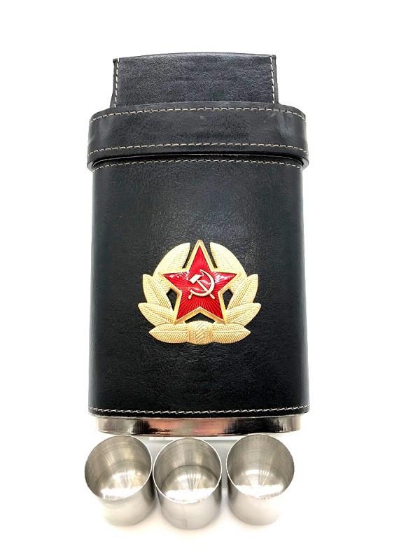 """Petaca """"Escudo CCCP"""", 250ml"""