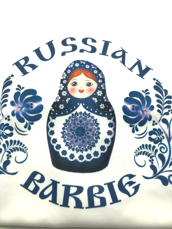 """Camiseta """"Barbi rusa»"""