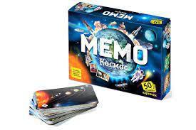 Juego de mesa Memo Cosmos, 50 cartas
