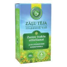 Té de hierbas para la limpieza intestinal, 60 g