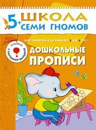 ШСГ Шестой год обучения. Дошкольные прописи./Денисова.