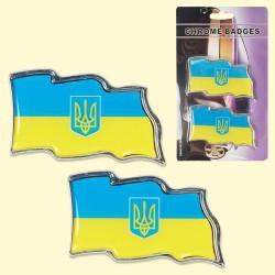 "Juego de pegatinas ""Ucrania"" 4,5х8,5 cm"