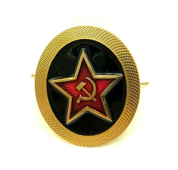 Insignia Pin Estrella Roja