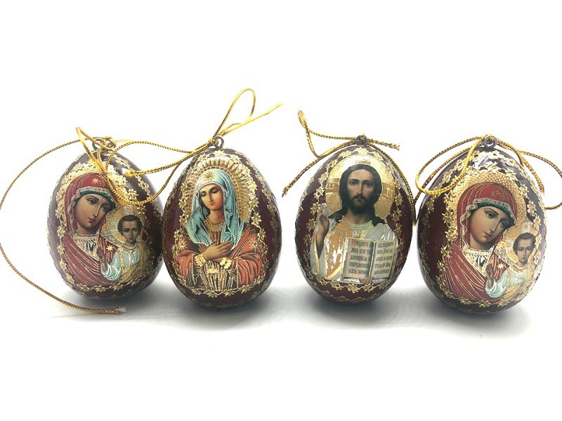 Huevo  con icono, marrón