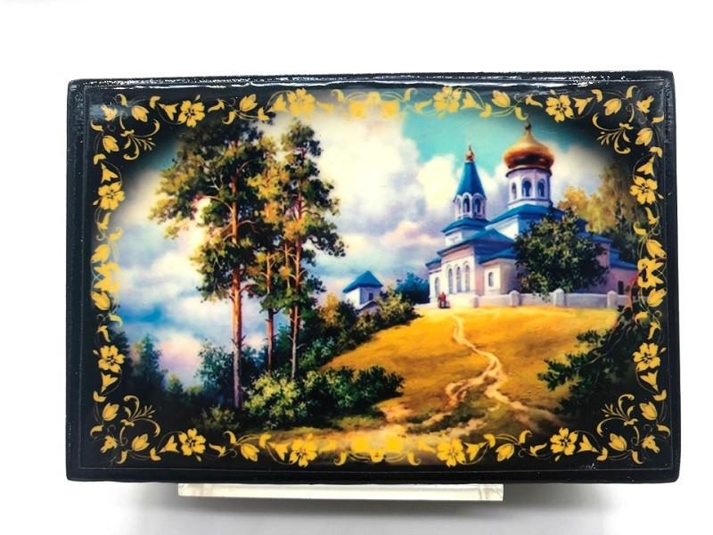 "Cajita"" Paisajes de Rusia"" 6*9 cm"