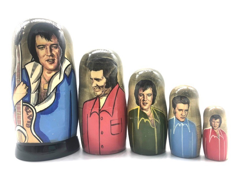 The Beatles Matryoshka, 5 muñecas
