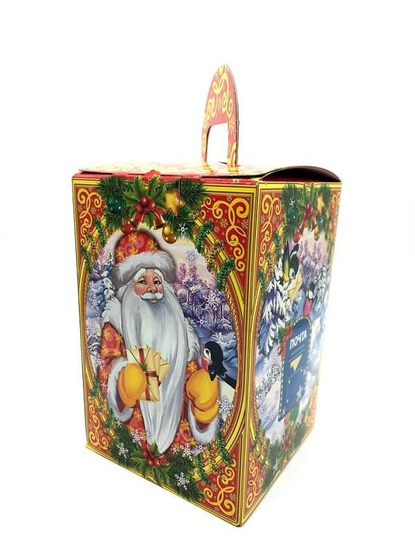 """Caja plegable """"Regalo de Papá Noel"""