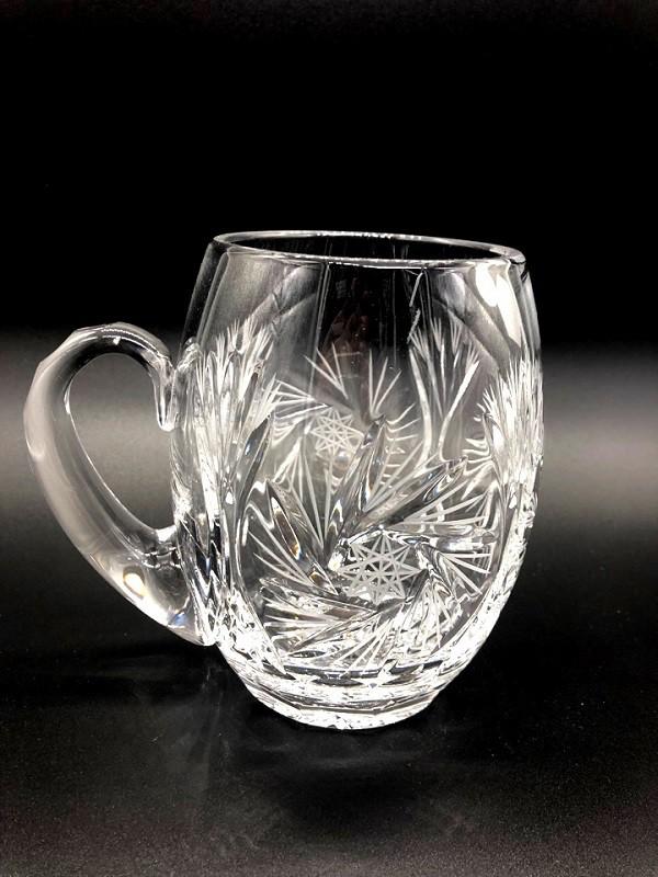 Jarra de cerveza, cristal de Bohemia