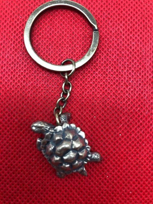 "Llavero ""Tortuga"", 3 cm, bronce"
