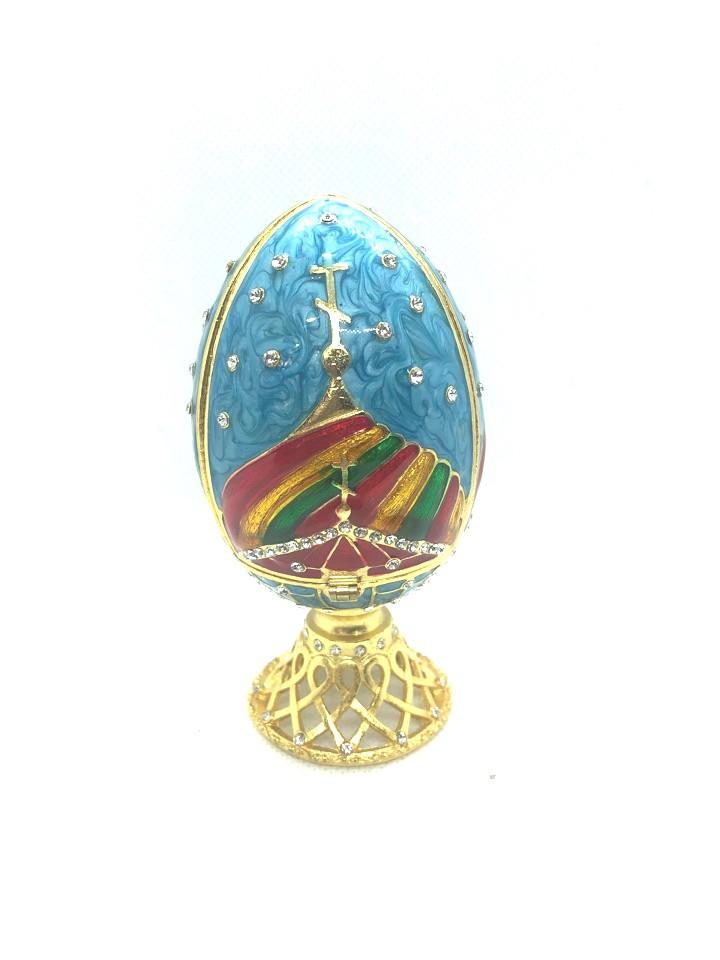 Huevo de Fabergé.
