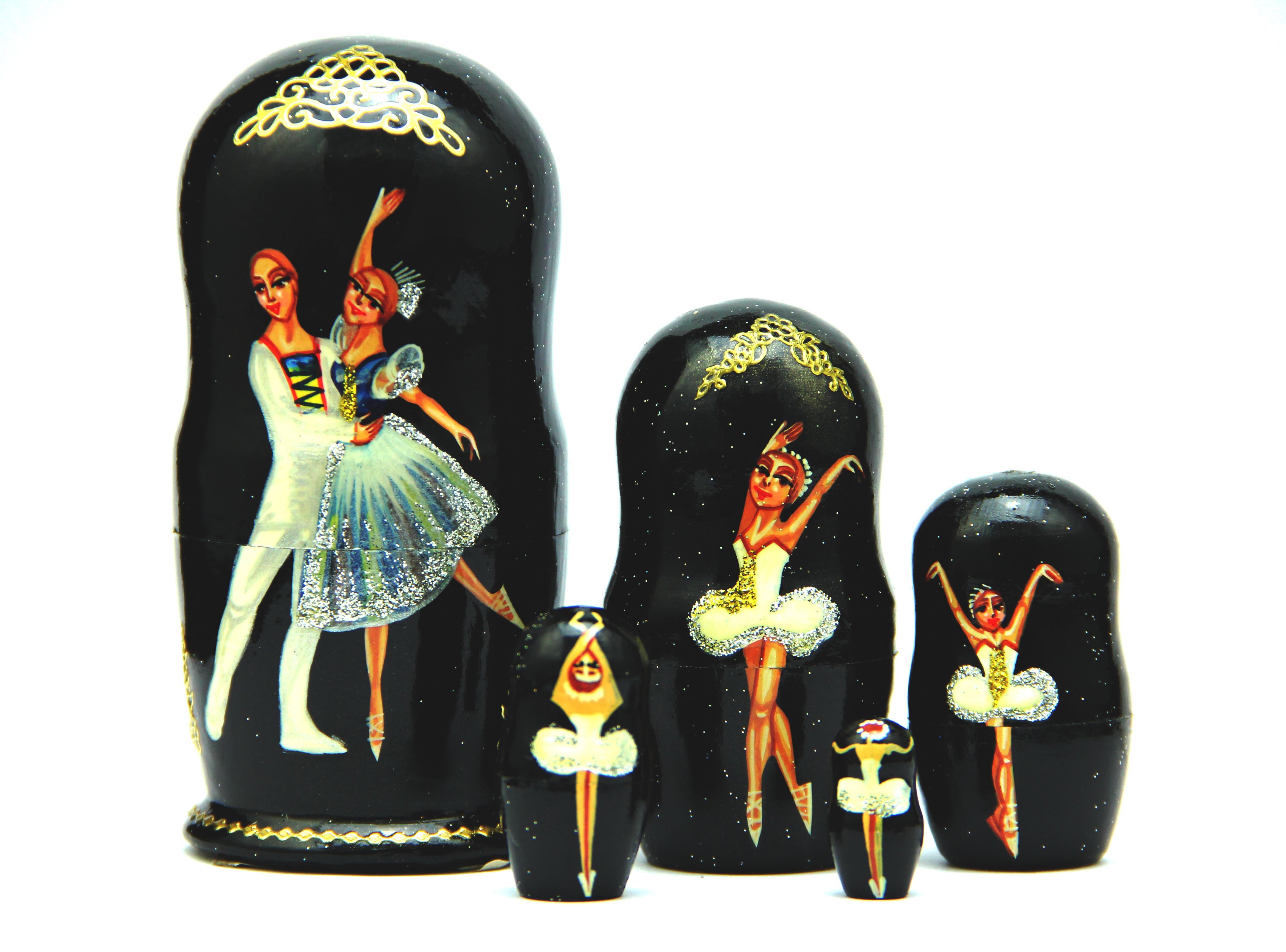 """Matrioska """"Ballet"""" 12 cm"""