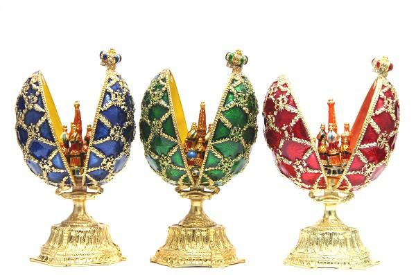 Huevo de Faberge, 14 cm