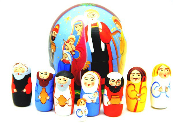 """Belen """"Navidad"""" 11 cm"""