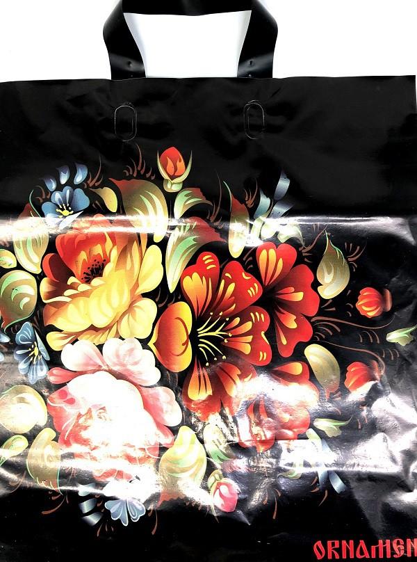 """Bolsa de plastico """"Zhostovo"""" 40 * 48 cm"""