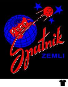 Camiseta Sputnik