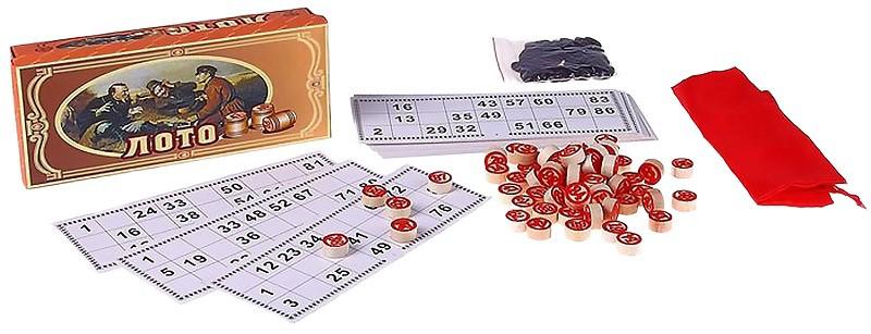 Loto ruso, juego de mesa