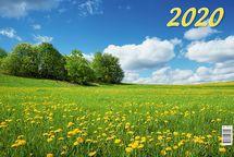 """Настенный календарь """"Родная природа"""" 2020 год"""