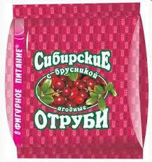 Salvado siberiano con arándanos rojos, 200 g