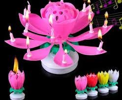 """Vela musical """"Feliz cumpleaños"""", rosa"""