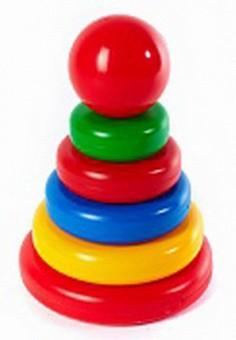 Gran pirámide, juguete de 24 cm