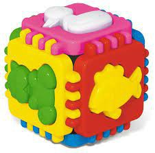 Cubo de lógica Animales divertidos