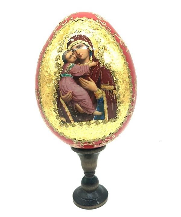 Huevo de Pascua con icono  18 cm