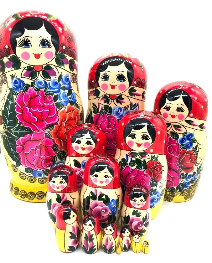 "Matrioska ""Semenovskaya"" 15 piezas"