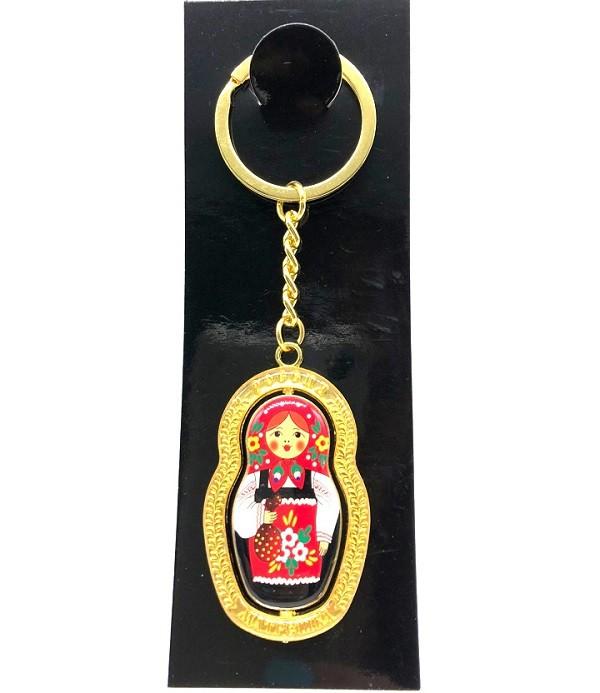 """Llavero """"Muñeca rusa"""", 12 cm"""