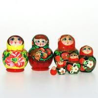 Matrioska-mini 5 piezas, en surtido