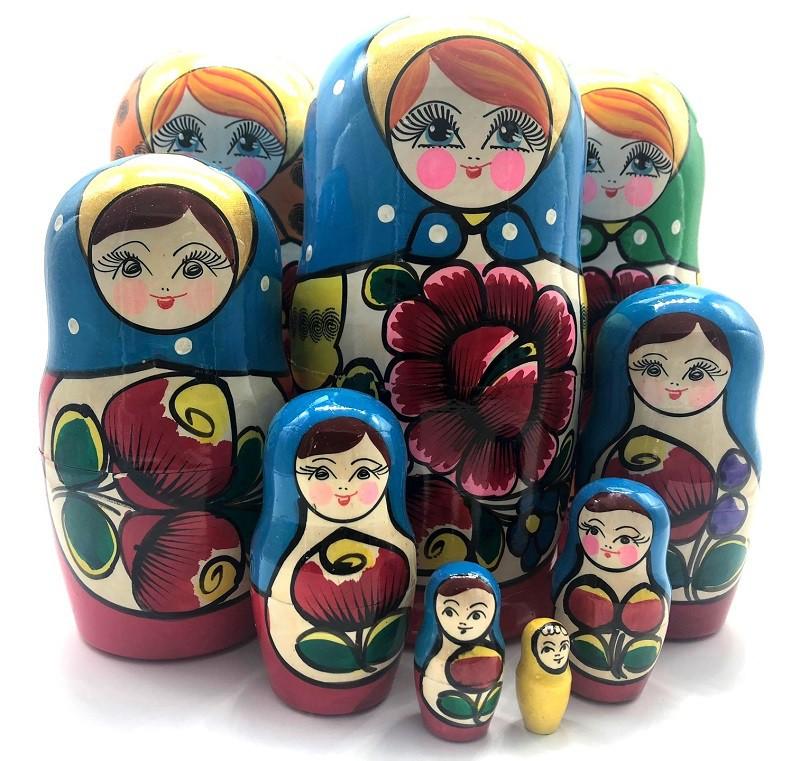 Muñeca rusa, 7 piezas