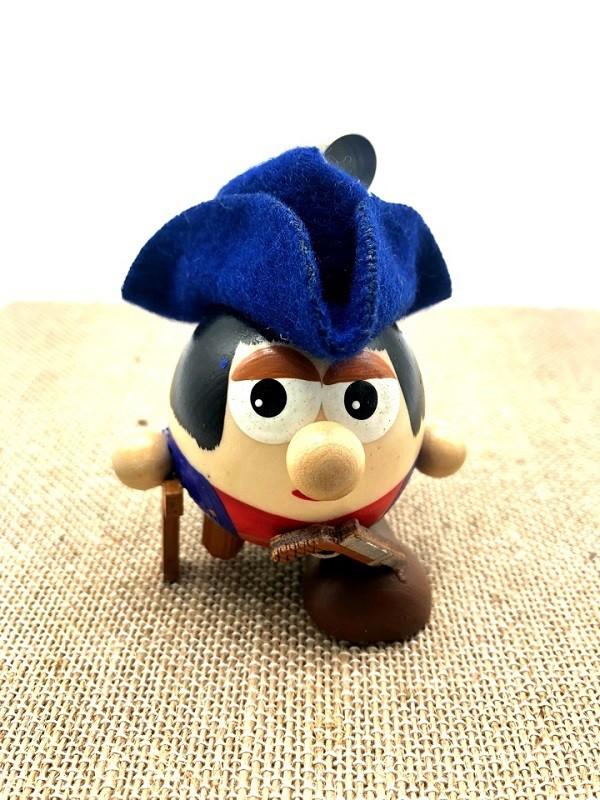 "Juguete de madera ""Pirata"",7 cm"