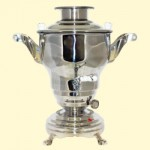 Samovar electrico 2 l, acero inoxidable
