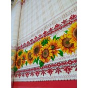 Mantel Girasoles, lino, 150: 220 cm