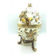 Huevera Faberge, 16cm