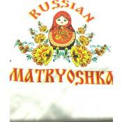 Футболка «Muñeca rusa en rojo»