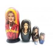 "Muñeca rusa ""Madonna"", 18 cm"