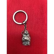 "Llavero ""Hotei"", bronce, 3 cm"