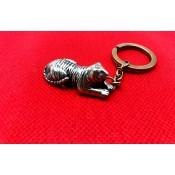 """Llavero """"Tigre"""", 4 cm, bronce"""