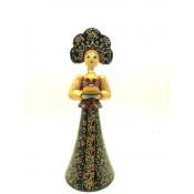 Muñeca en traje típico, 27 cm