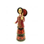 """Muñeca """"La señorita con paraguas"""" 27 cm"""