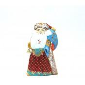 Papa Noel de madera, 17 cm