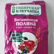 Fibra siberiana. Claro de vitamina, 300 g